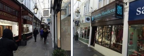 564 SF Shopping Centre Unit for Rent  |  20 Royal Arcade, Cardiff, CF10 1AE