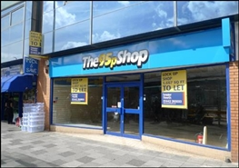 1,658 SF High Street Shop for Rent  |  158 Marlowes, Hemel Hempstead, HP1 1BA