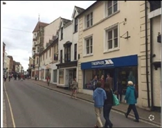 2,236 SF High Street Shop for Rent  |  Gammon Walk, Barnstaple, EX31 1JB