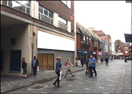 1,316 SF High Street Shop for Rent  |  11 - 15 Williamson Street, Liverpool, L1 1EB