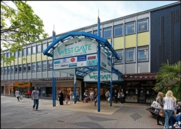 4,860 SF Shopping Centre Unit for Rent  |  Units 22-23, Westgate Shopping Centre, Stevenage, SG1 1QR