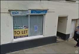 340 SF High Street Shop for Rent  |  3 High Street, Downham Market, PE38 9DA