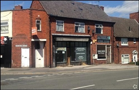 698 SF High Street Shop for Rent  |  Unit 2, Chesterfield, S42 5SW