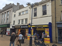 1,166 SF High Street Shop for Rent  |  29 New Street, Huddersfield, HD1 2AZ