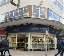 1,104 SF High Street Shop for Rent  |  1 Queen Street, Wolverhampton, WV1 3JX