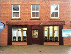 460 SF High Street Shop for Rent  |  1 Millstream Square, Sleaford, NG34 7ZL