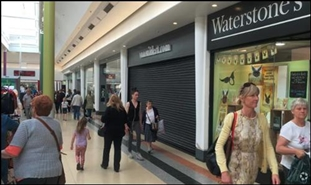 2,261 SF Shopping Centre Unit for Rent  |  UNIT 32 The Bridges Shopping Centre, Sunderland, SR1 3DR