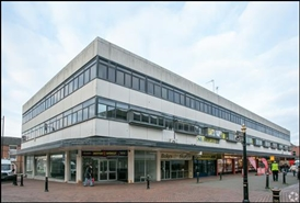 917 SF High Street Shop for Rent  |  10 Princes Street, Stafford, ST16 2BN