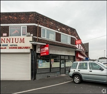 634 SF High Street Shop for Rent  |  1 Ditchfield Road, Widnes, WA8 8QH
