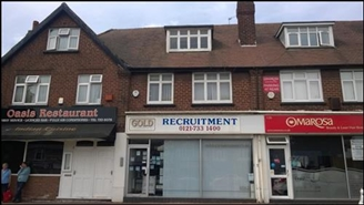 363 SF High Street Shop for Rent  |  128 Stratford Road, Solihull, B90 3BB