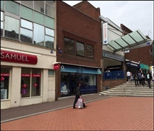 637 SF High Street Shop for Rent  |  41 - 43 Park Street, Walsall, WS1 1LY