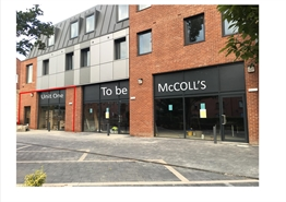 707 SF High Street Shop for Rent  |  Unit 1, Leeds, LS3 1HF