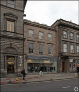 1,028 SF High Street Shop for Rent  |  97 - 99 George Street, Edinburgh, EH2 3ES