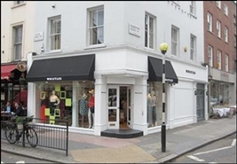 517 SF High Street Shop for Rent  |  1 Thayer Street, London, W1U 3JA