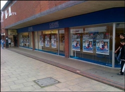 1,024 SF Shopping Centre Unit for Rent  |  27 Victoria Street, Crewe, CW1 2PU