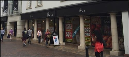 425 SF High Street Shop for Rent  |  32 - 42 Butter Market, Ipswich, IP1 1DZ
