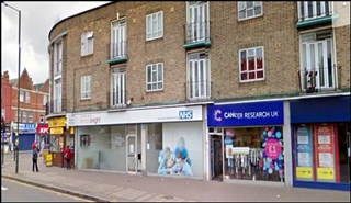 1,192 SF High Street Shop for Rent  |  4 - 5 Fairgreen Parade, Mitcham, CR4 3NA