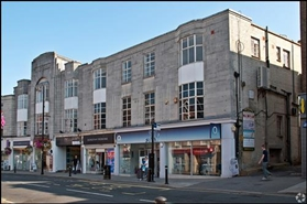 1,238 SF High Street Shop for Rent | Whitehall Parade, East Grinstead, RH19 1AP