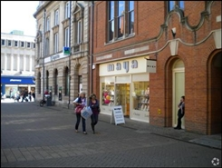 467 SF High Street Shop for Rent | 1 St Benedicts Square, Lincoln, LN5 7AR