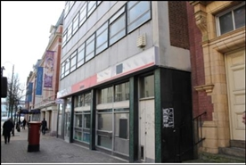 4,702 SF High Street Shop for Rent  |  66 - 70 Lichfield Street, Wolverhampton, WV1 1DJ