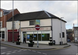 945 SF High Street Shop for Sale  |  2 High Street, Stoke On Trent, ST8 6AP