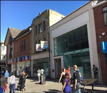 211 SF High Street Shop for Rent  |  27 - 29 East Street, Derby, DE1 2AL