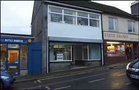 1,282 SF High Street Shop for Rent  |  141 - 143 Fore Street, Saltash, PL12 6AB