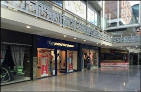 1,995 SF Shopping Centre Unit for Rent  |  Unit 70, Lower Precint Shopping Centre, Coventry, CV1 1DS
