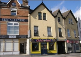 746 SF High Street Shop for Sale  |  12 The Triangle, Bournemouth, BH2 5RY