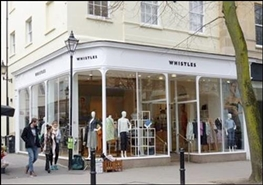 928 SF High Street Shop for Rent  |  72 Promenade, Cheltenham, GL50 1NB