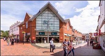 3,179 SF High Street Shop for Rent  |  Unit 3, Henblas Square Shopping Centre, Wrexham, LL13 8AE