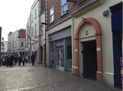 1,061 SF Shopping Centre Unit for Rent  |  Unit 16, 9 Gomond Street, Hereford, HR1 2AJ