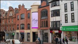 4,443 SF Shopping Centre Unit for Rent  |  Unit 1, The Village, Reading, RG1 2HG