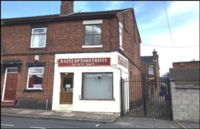 997 SF Out of Town Shop for Sale  |  1 Cornelius Street, Stoke On Trent, ST3 6AF
