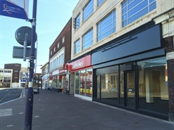 990 SF High Street Shop for Rent  |  20 - 22 Campbell Place, Stoke On Trent, ST4 1LX