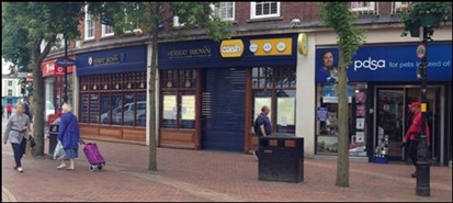 1,421 SF High Street Shop for Rent  |  Royal George Buildings, Rugby, CV21 3EA