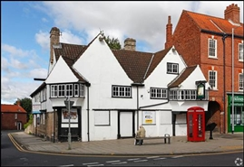 3,500 SF High Street Shop for Rent  |  Old Ship Inn, Worksop, S80 1HS