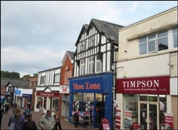 865 SF High Street Shop for Rent  |  29 Witton Street, Northwich, CW9 5DE