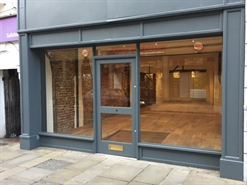 630 SF High Street Shop for Rent  |  10 High Street, Salisbury, SP1 2NW