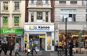 476 SF High Street Shop for Rent  |  53 Oxford Street, London, W1D 2EG