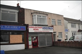 380 SF High Street Shop for Rent  |  3 Kirkleatham Lane, Redcar, TS10 1NS