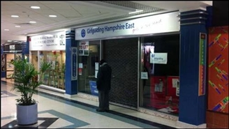535 SF Shopping Centre Unit for Rent  |  Unit 85 (52), Osborn Mall, Fareham, PO16 0PW