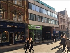 592 SF High Street Shop for Rent  |  38A Lands Lane, Leeds, LS1 6LB