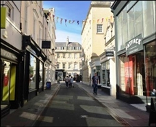 880 SF High Street Shop for Rent  |  4 - 5 Green Street, Bath, BA1 2JY