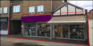 1,785 SF High Street Shop for Rent  |  14 - 22 Mill Lane, Woodford Green, IG8 0UG