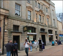 1,968 SF High Street Shop for Rent  |  104 - 106 High Street, Dunfermline, KY12 7DP