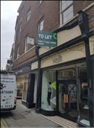 1,112 SF High Street Shop for Rent  |  38 Coney Street, York, YO1 9ND