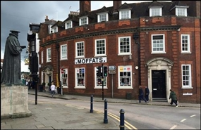 2,022 SF High Street Shop for Rent  |  Central Buildings, Guildford, GU1 3AJ