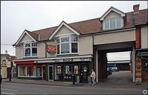 498 SF High Street Shop for Rent  |  1 Belwell Lane, Sutton Coldfield, B74 4AA