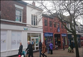 1,947 SF High Street Shop for Sale  |  34 - 36 Witton Street, Northwich, CW9 5AH